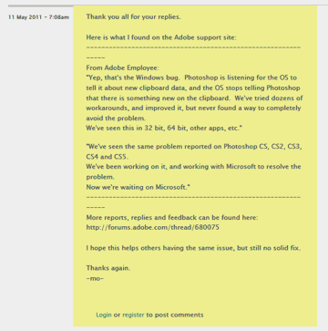 Adobeサポートから以下の様な回答