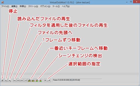 VirtualDubModの使い方