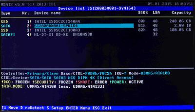 E/Fドライブ(2TB HDD)