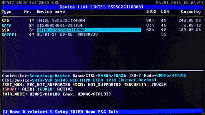 Dドライブ(180GB SSD)