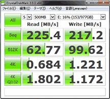 HDD速度 外周1TB分