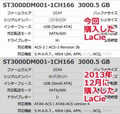 2013年12月購入品と比較
