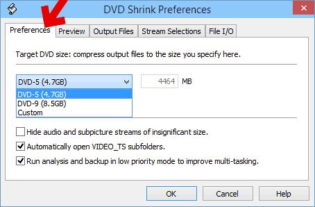 DVD-Rの容量を指定してフリーソフトでコピー