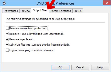 フリーソフトで出力用の設定。コピーの方法を指定。