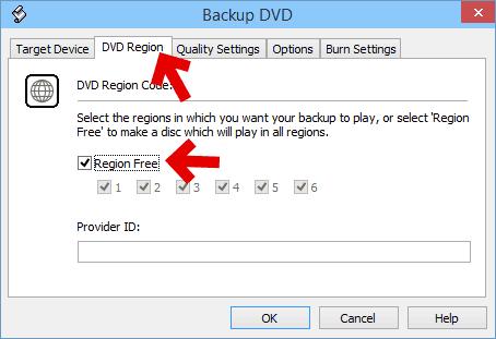 コピーした動画のリージョンコードを、フリーソフトで決定