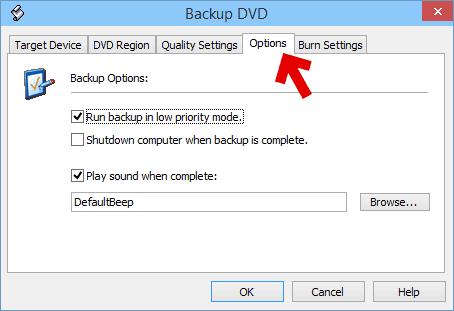 フリーソフトのコピー用のその他のオプションです