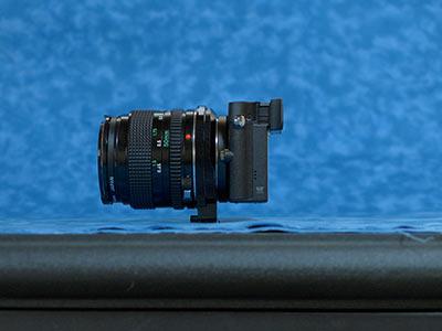 GM5+NFD50mm F1.4 横から見た図