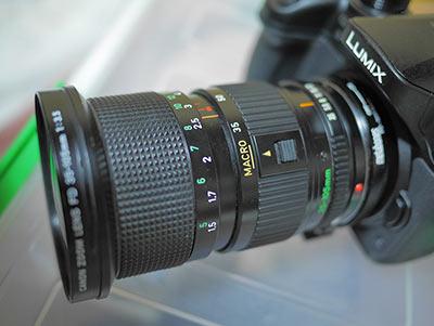 NFD 35-105mm F3.5 マクロモード