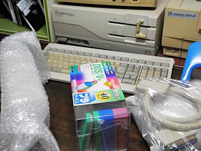 PC9801外付け3.5inchフロッピードライブ