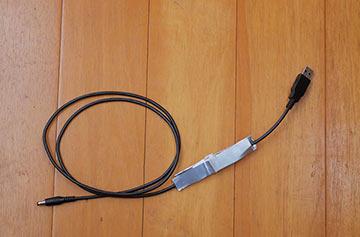 昇圧USBケーブル完成