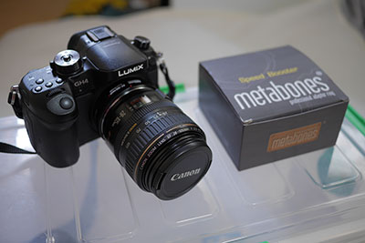 Speed Booster Canon EF Lens to Micro Four Thirds