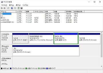 Windows10のデバイスマネージャ (dynabook R731)