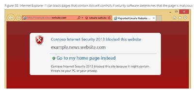 IE11のブロック機能